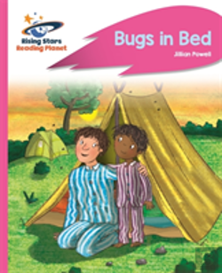 Bertrand.pt - Reading Planet - Bugs In Bed - Pink B: Rocket Phonics