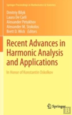 Bertrand.pt - Recent Advances In Harmonic Analysis And Applications