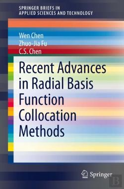 Bertrand.pt - Recent Advances In Radial Basis Function Collocation Methods