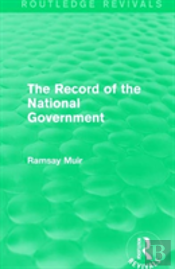 Record Of The National Government