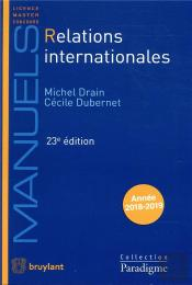 Relations Internationales (23e Édition)