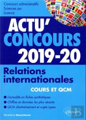 Relations Internationales Concours 2019-2020