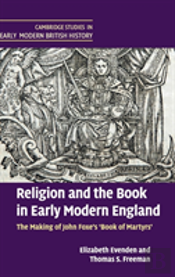 Religion & The Book In Early Modern Engl