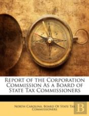 Report Of The Corporation Commission As