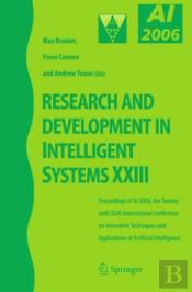 Research And Development In Intelligent Systems Xxiii