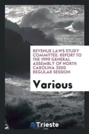 Revenue Laws Study Committee