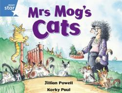 Bertrand.pt - Rigby Star Guided 1 Blue Level: Mrs Mog'S Cats Pupil Book (Single)