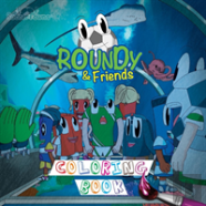 Roundy & Friends Coloring Book