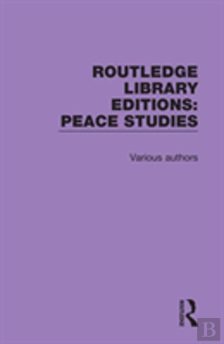 Bertrand.pt - Routledge Library Editions: Peace Studies