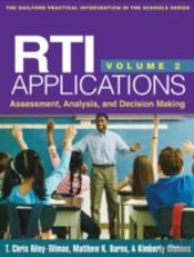Rti Applications, Volume 2: Assessment, Analysis, And Decision Making