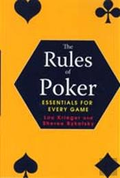 Rules Of Poker
