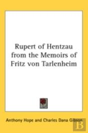 Rupert Of Hentzau From The Memoirs Of Fr