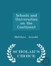 Schools And Universities On The Continen