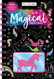 Scratch & Colour: Magical Creatures