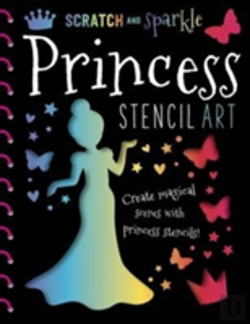 Bertrand.pt - Scratch & Sparkle Princess Stencil Art