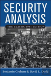 Security Analysisclassic 1951 Edition