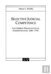 Selective Judicial Competence