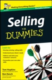 Selling For Dummies Uk Edition Whs Trave