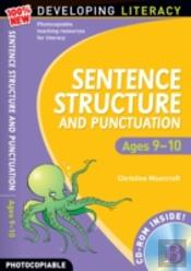 Sentence Structure And Punctuation - Ages 9-10year 5