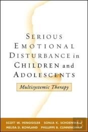 Serious Emotional Disturbance In Children And Adolescents
