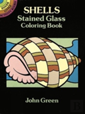 Shells Stained Glass Colouring Book