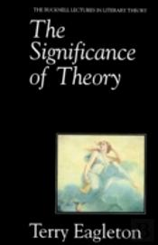 Significance Of Theory