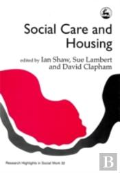 Social Care And Housing