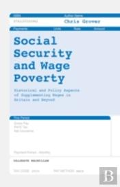 Social Security And Wage Poverty