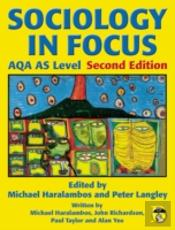 Sociology In Focus For Aqa As Levelstudent Book