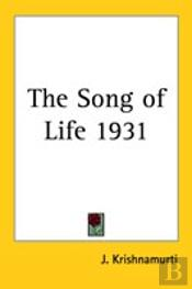 Song Of Life 1931