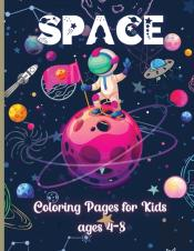 Space Coloring Pages For Kids Ages 4-8