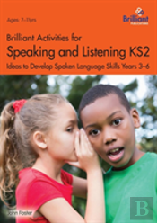 Speaking And Listening Activities For Years 3-6