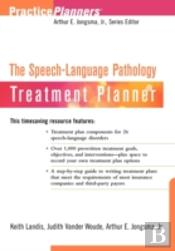 Speech-Language Pathology Treatment Planner