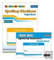 Spelling Stations Pupil & Ticket Bk Yr 2