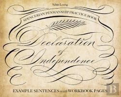 Bertrand.pt - Spencerian Penmanship Practice Book: The Declaration Of Independence