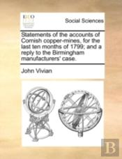 Statements Of The Accounts Of Cornish Co