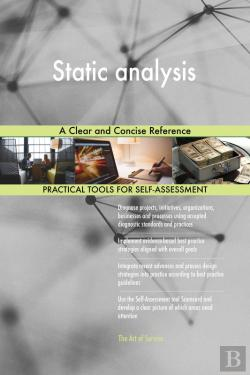 Bertrand.pt - Static Analysis A Clear And Concise Reference