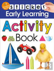 Sticker Early Learning Activity Bo