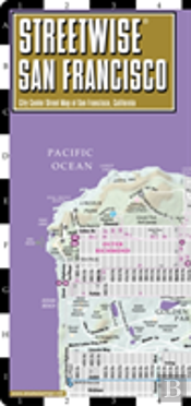 Streetwise San Francisco Map - Laminated City Center Street Map Of San Francisco, California