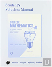 Student S Solutions Manual For College