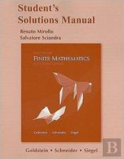Student Solutions Manual For Finite Mathematics & Its Applications