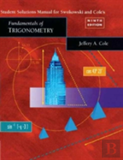 Student Solutions Manual For Fundamentals Of Trigonometry