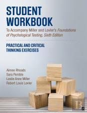 Student Workbook To Accompany Miller And Lovlers Foundations Of Psychological Testing