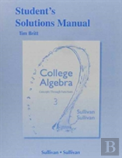 Student'S Solutions Manual (Valuepack) For College Algebra