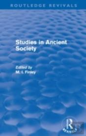 Studies In Ancient Society