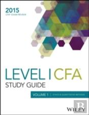Study Guide For 2015 Volume 1 Level I Cfa Exam