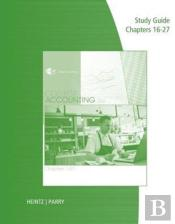 Study Guide With Working Papers For Heintz/Parry'S College Accounting, Chapters 16-27, 22nd