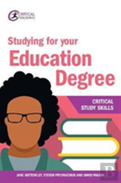 Studying For Your Education Degree