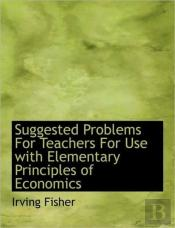 Suggested Problems For Teachers For Use