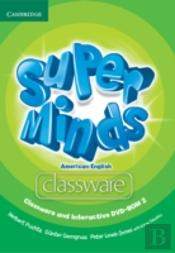 Super Minds American English Level 2 Classware And Interactive Dvd-Rom